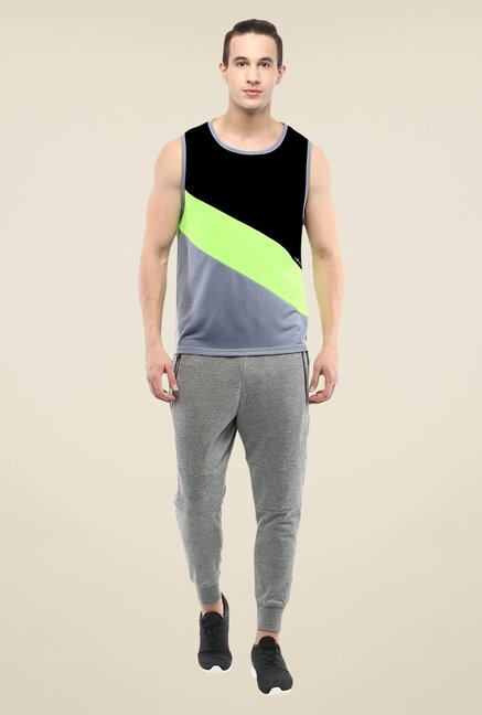 Yepme Multicolor Walton Muscle T-shirt
