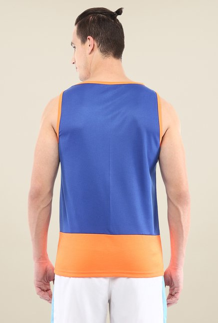 Yepme Royal Blue Kurt Muscle Vest