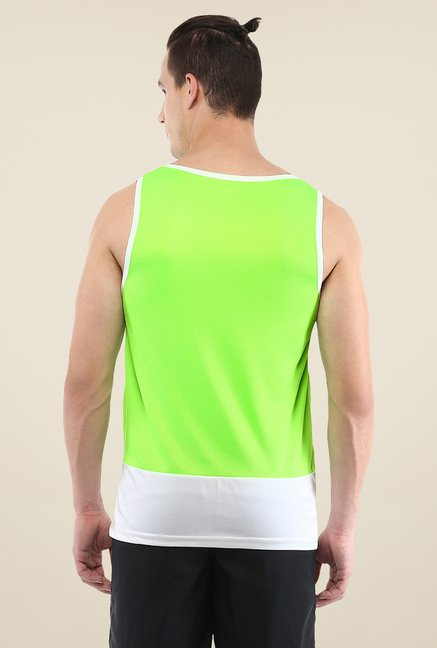 Yepme Green Kurt Muscle Vest