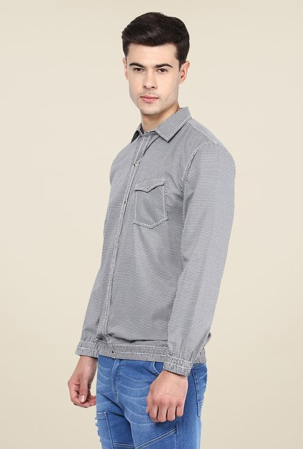 Yepme Black Francis Slim Fit Shirt