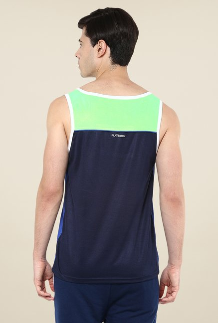Yepme Navy Crosby Muscle Vest