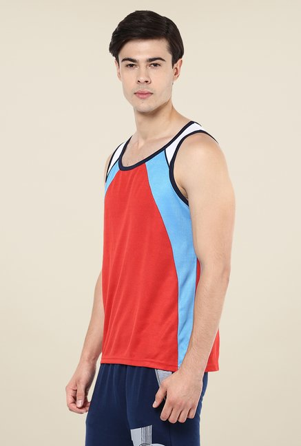 Yepme Red Crosby Muscle Vest