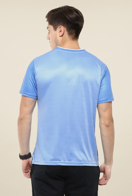 Yepme Blue Barry Printed T-shirt