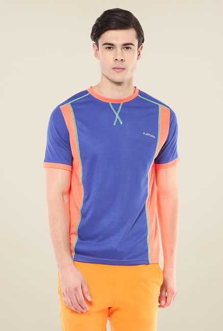 Yepme Dark Blue Hubert Active T-shirt