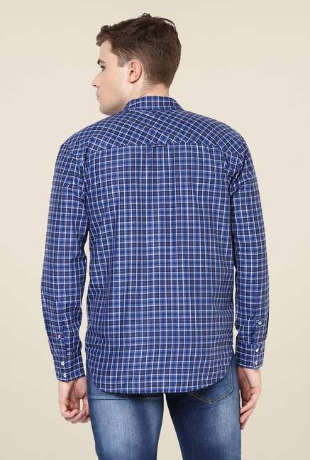 Yepme Blue Marcus Check Shirt