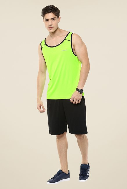 Yepme Green Galvin High Performance Muscle Vest