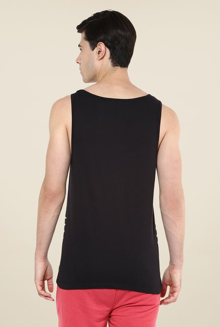 Yepme Black Addison High Performance Muscle Vest