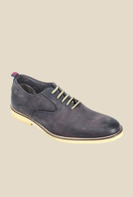 Hx London Colindale Black Casual Shoes