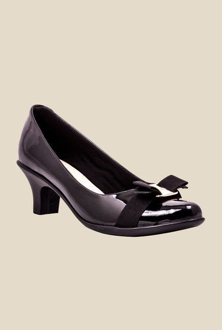 Catwalk Black Casual Pumps