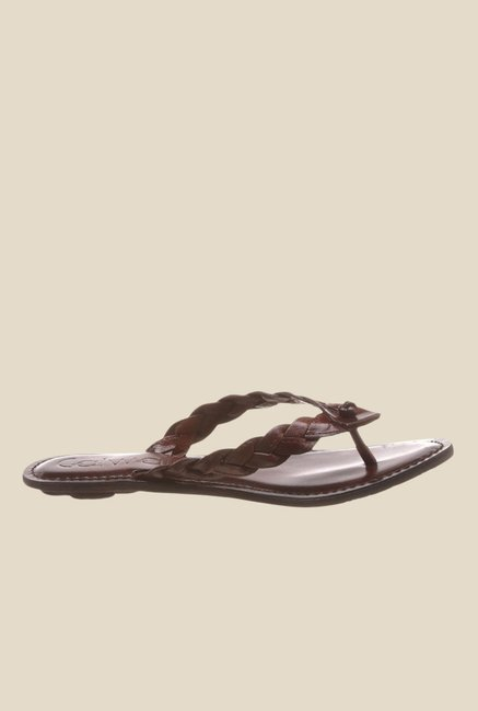 Catwalk Brown Thong Sandals