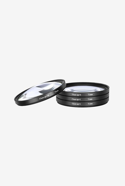 Neewer 72mm Macro Close Up Set for Canon Lens (Black)