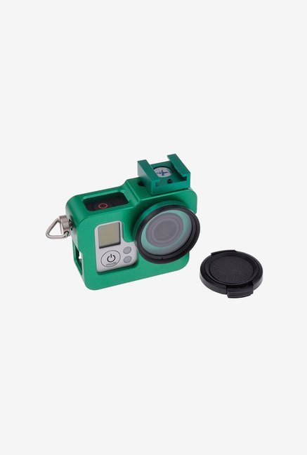 Neewer Shell Protective Case with 37mm Uv Filter Set (Green)