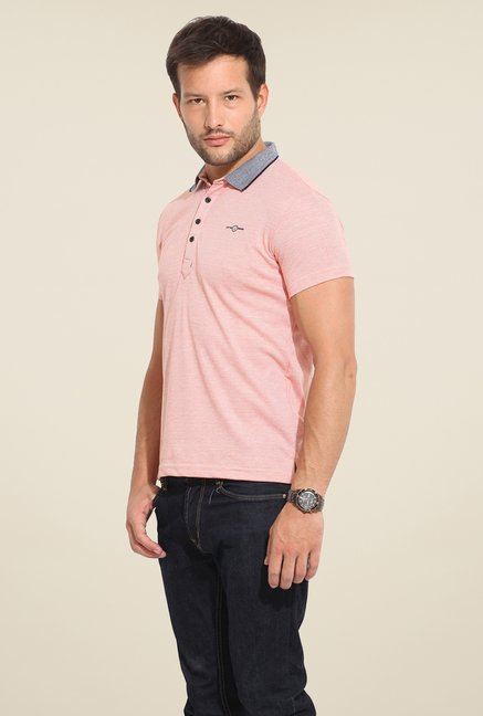 Duke Stardust Pink Solid T Shirt
