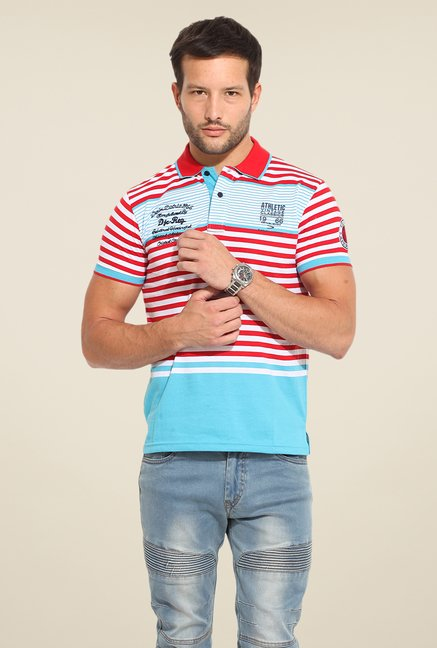 Duke Stardust Multicolor Striped T Shirt