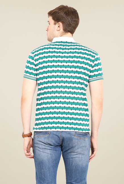 Duke Stardust Teal Printed T Shirt