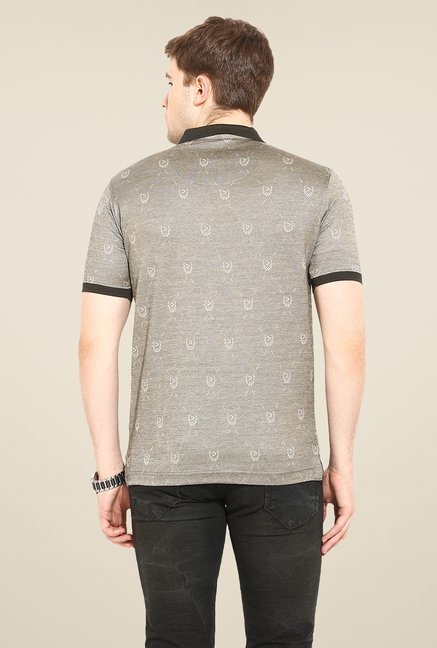Duke Stardust Grey Printed T Shirt