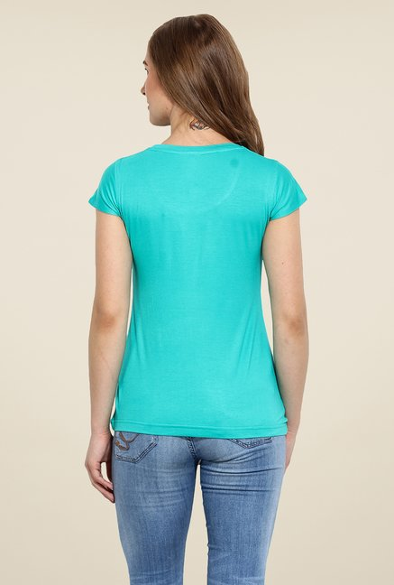Duke Stardust Teal Solid Top