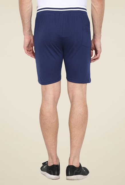 Duke Stardust Blue Solid Shorts
