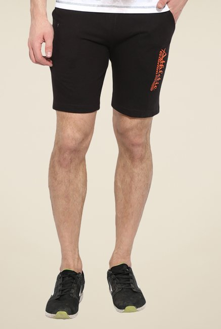 Duke Stardust Black Solid Shorts
