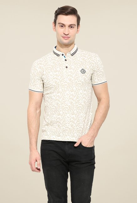Duke Stardust Cream Printed T-shirt