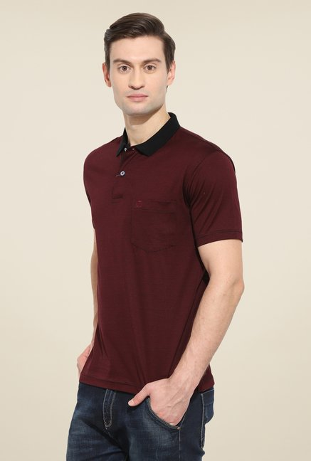Duke Stardust Maroon Striped T-shirt