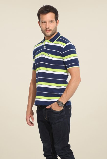 Duke Stardust Navy Striped T-shirt