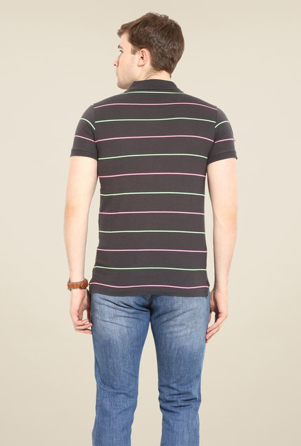 Duke Stardust Charcoal Striped T-shirt