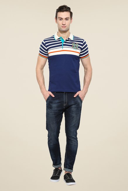 Duke Stardust Navy Solid T-shirt