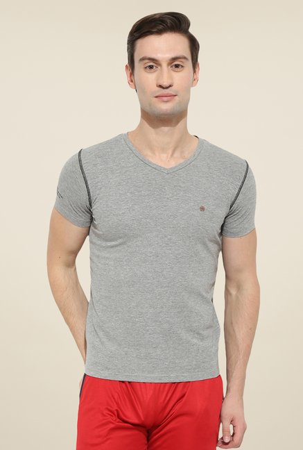 Duke Stardust Grey Solid T Shirt