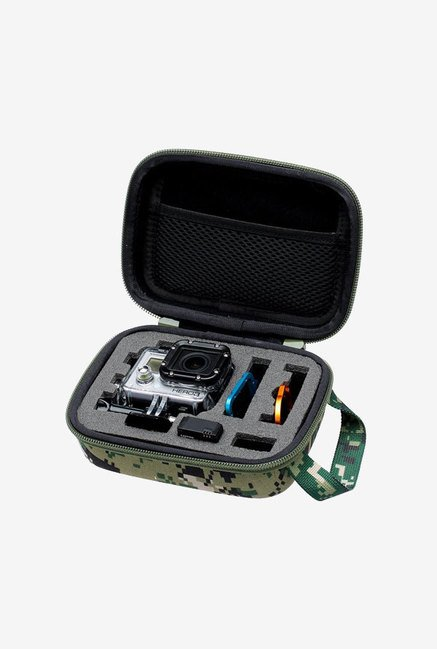 Neewer Shockproof Small Storage Carrying Case (Green Camo)