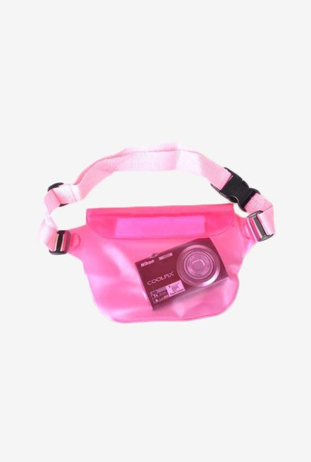 Neewer Waterproof Camera Phone Protection Waist Bag (Pink)
