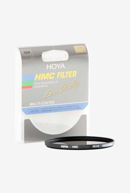 Hoya Hmc Neutral Density Nd4 Glass Filter (Black)