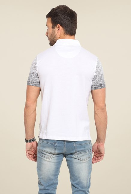 Duke Stardust White Printed T Shirt