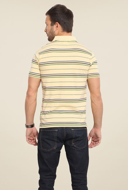 Duke Stardust Beige Striped T-shirt