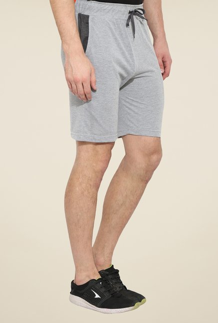 Duke Stardust Grey Solid Shorts