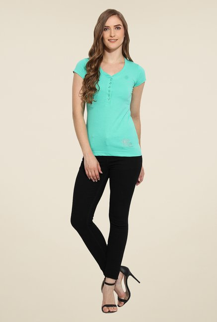 Duke Stardust Turquoise Solid Top