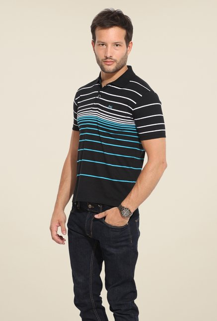 Duke Stardust Black Striped T Shirt