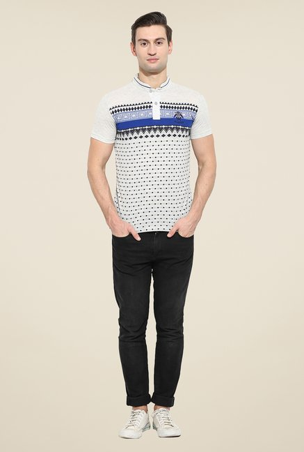 Duke Stardust Off White Printed T-shirt