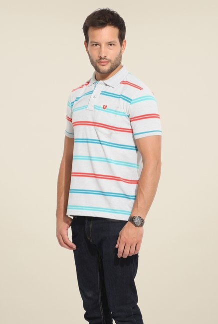 Duke Stardust Off White Striped T-shirt