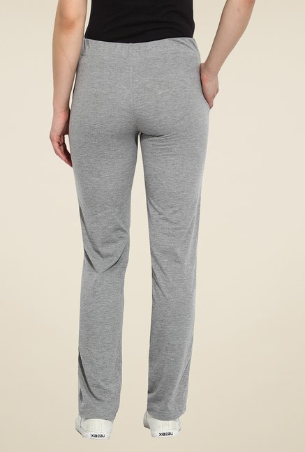 Duke Stardust Grey Solid Track Pants