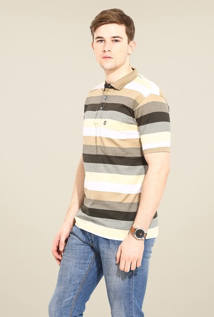 Duke Stardust Multicolor Striped T-shirt