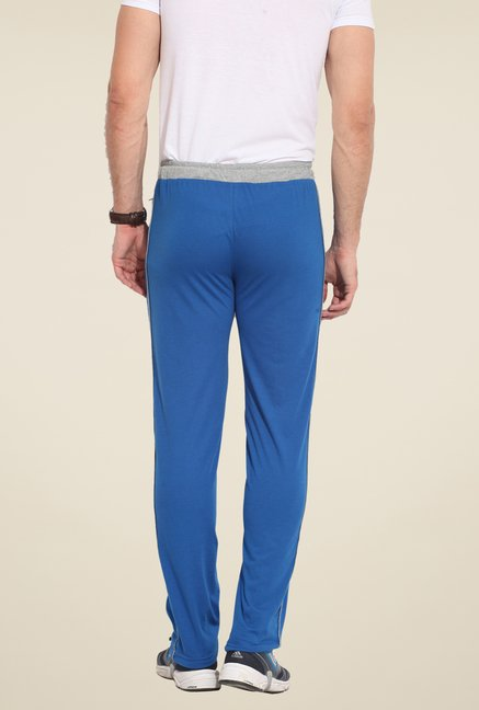 Duke Stardust Blue Solid Track Pant