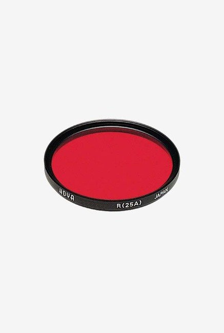 Hoya 82mm Red Hmc Lens Filter (Black)