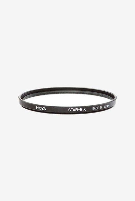 Hoya 67mm Six Point Cross Screen Glass Filter (6X) (Black)