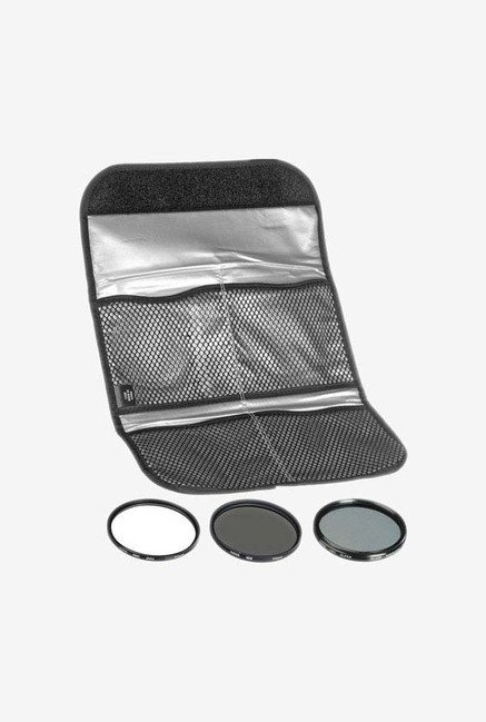 Hoya 72mm 3 Digital Filter Set With Pouch (Black)