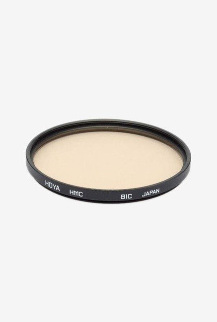 Hoya 72mm 81C Hmc Lens Filter (Black)