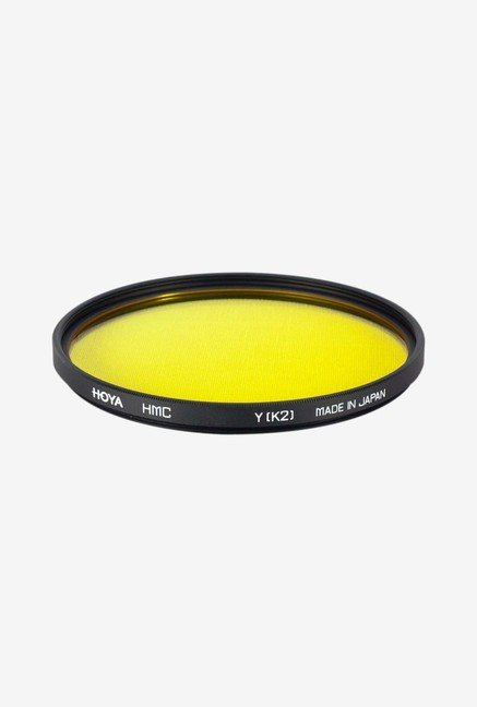 Hoya 72mm K2 Yellow Hmc Lens Filter (Black)