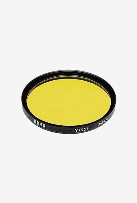 Hoya 77mm K2 Yellow Hmc Lens Filter (Black)