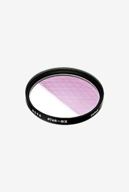 Hoya 82mm 6 Point Cross Screen Glass Filter (6X) (Black)