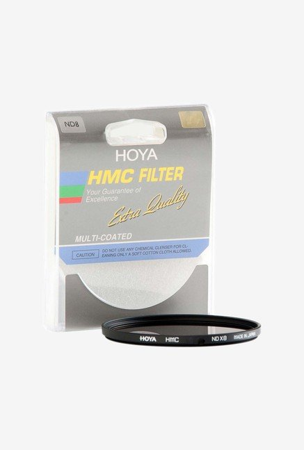 Hoya Hmc Neutral Density Nd8 Glass Filter (Black)
